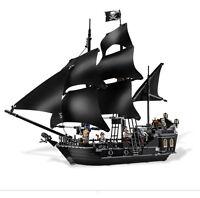 Die Black Pearl Fluch der Karibik Piratenschiff Blöcke Kompatibel set No.16006
