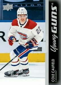 💖** PRE SELL** 2021-22 Ud Series 1 Young Guns  COLE CAUFIELD RC #201 YG*  💖