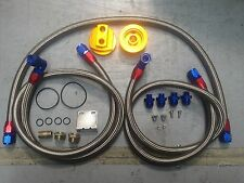 oil cooler RELOCATION KIT braided line KIT AN10 fitting SUIT SR20 S14 S15 S13