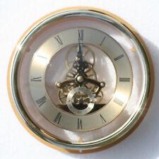 Esqueleto Reloj 149mm diámetro Cuarzo Inserción, latón acabado con Brida Ajuste