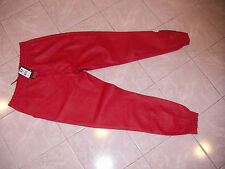 SOUTH POLE COLLECTION SHINY SWEATS RED FAUX LEATHER STYLE NWT XL HIGH QUALITY