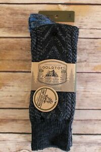 Gold Toe Signature Collection 2-Pack Midweight Camp Crew Boot Socks Large 6-12.5
