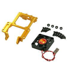 [#R31-22-GO] SP Front Pulley Mount With Fan  for R31[Gold]