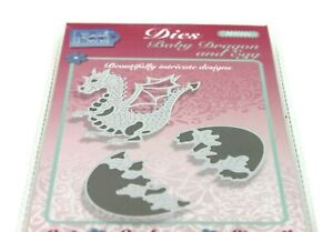 Sweet Dixie Baby Dragon and Egg Die SDD333 - Crafting Die-Cutting