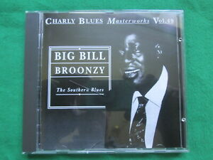 BIG BILL BROONZY - THE SOUTHERN BLUES - CHARLY BLUES MASTERWORKS VOL 49 - CD