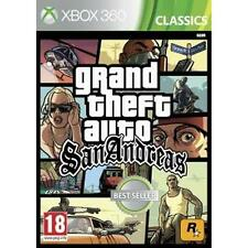 Pal version Microsoft Xbox 360 Grand Theft auto San Andreas