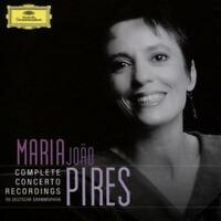 MARIA JOAO PIRES: COMPLETE CONCERTO RECORDINGS ON DEUTSCHE GRAMMOPHON NEW CD