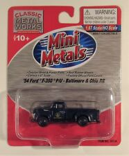 Classic Metal Works 1954 Ford F-350 P/U Baltimore & Ohio RR  HO-1/87th New 30234