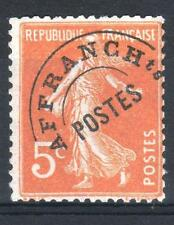 "FRANCE STAMP TIMBRE PREOBLITERE 50 "" SEMEUSE 5c ORANGE "" NEUF xx TB P085"