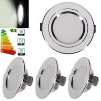4X LED Recessed Ceiling Light Round Lamp 5W Downlight Daylight Energy Saving UK