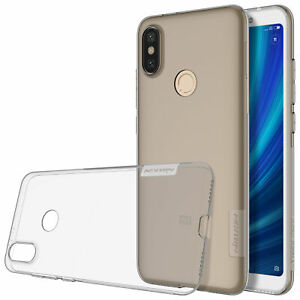 Nillkin Nature Series Transparent Flexible Case Cover forXiaomi Mi A2 - Tinted