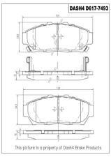 Disc Brake Pad Set-Metallic Pads Front Pronto PMD617