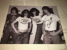 Tommy Ramone SIGNED 11x14 Photo The Ramones Joey Johnny Rocket To Russia PROOF