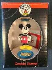Vintage New in Box Disney MICKEY & CO. Mickey Mouse Cookie Stamp