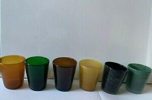 Set of Memento Italian  glasses new