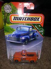 General Lee Dukes of Hazzard 47 Chevy pickup truck Matchbox custom