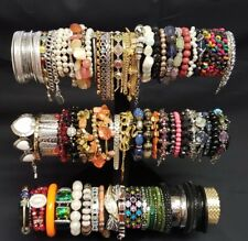 Lot of vintage modern bangles bracelets cuffs