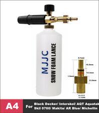 Snow Foam Lance Pressure Cannon Washer Gun Car Foamer for Black Decker 1L Bottle
