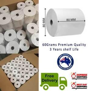 SUPER CHEAP. 50 Rolls 80x80mm Thermal Paper Cash Register Receipt Roll