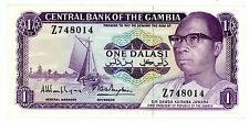 Gambia … P-4g … 1 Dalasi … ND(1981) … *XF*   Replacement-Sign :8.