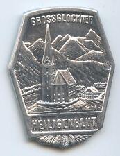 A1052 Alte Plakette Heiligenblut Großglockner 3798 M Kärnten Stockabzeichen