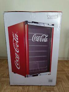 Coca Cola Cool Cube 115L Cubes CC 166 NEU & OVP Kühlschrank