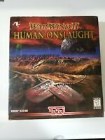 War Wind II: Human Onslaught  (PC, 1997) Warwind 2*SSI Real-Time Strategy* NEW!