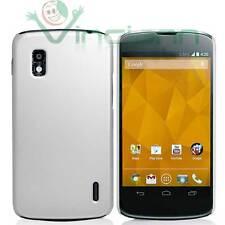 Custodia rigida specifica per LG Google Nexus 4 E960 BIANCA cover aderente slim