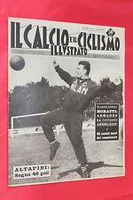 Rivista Sportiva IL CALCIO e il CICLISMO ILLUSTRATO Anno 1961 N°33 ALTAFINI