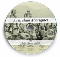 140 Rare Australian Aborigine Books on DVD Tribes Traditions Languages Legend D8