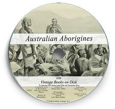 140 Rare Australian Aborigne Books on DVD Tribes Traditions Languages Legends D8