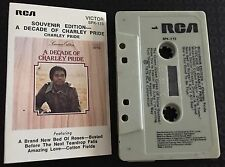 A Decade of Charley Pride Souvenir Edition ~ CHARLEY PRIDE Cassette Tape