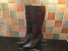 M&S Autograph Leather Boots Size 7.5 BNWT. Original RRP Was £75 So Bargain.