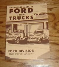 1951 Ford Truck F Series Owners Operators Manual 51