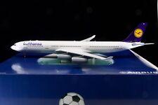 Inflight200 White Box Models 1/200 Lufthansa A340 'Football Nose' D-AIGS