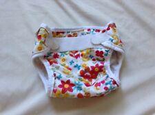 Bummis Super Whisper Wrap Cloth Diaper Cover Bright Floral Pattern Medium