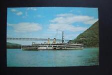 """721) HUDSON RIVER DAY LINER """"ALEXANDER HAMILTON"""" SHIP ~ THE BEAR MOUNTAIN BRIDGE"""