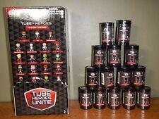 Tube Heroes Unite  Mystery Figures - 14 SEALED BLIND TUBES