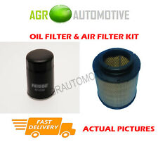 DIESEL SERVICE KIT OIL AIR FILTER FOR TOYOTA HILUX 2.5 144 BHP 2007-
