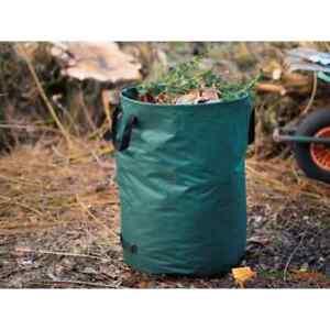 Nature Gartenabfallsack Rund 240 L Gartensack Laubsack Gartensack Abfallsack