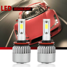 2pcs H11 H9 H8 180W 18000LM 6000K White High Power LED Headlight Low Beam Bulb