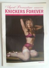 KATE MOSS AGENT PROVOCATEUR KNICKERS FOREVER ISSUES 3 UK MAGAZINE RARE!