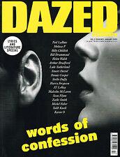 DAZED & CONFUSED 01/2005 Confessions Iss LYRICS & LITERATURE SPEC Billy Childish