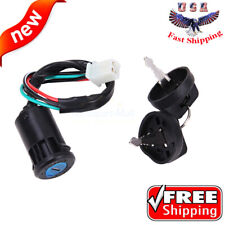 ATV Key Ignition Switch 4 Wire For 50CC 90CC 110CC 125CC 150CC 250CC TaoTao SUNL