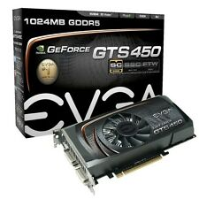 EVGA & MSI  NVIDIA GeForce GTS 450 1 GB GDDR5 SDRAM PCI Express x16... Both