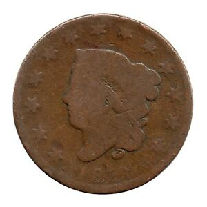 KM# 45.1 - One Cent - Liberty Head/Coronet Head Large Cent - USA 1819 (Poor)