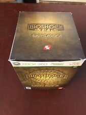 BIOSHOCK LIMITED EDITION XBOX 360 GAME & FIGURE COMPLETE
