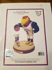 KU Jayhawks Basketball Keepaway Figurine Limited Edition, Rare Kansas Gift