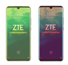 2x Schutzfolie für ZTE Axon 10 Pro 5G inkl. Rundung Flex Folie dipos Display