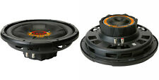 """NEW (2) 12"""" SVC Subwoofer Bass.Speakers.4ohm.Shallow Depth slim Mount.1000w.PAIR"""